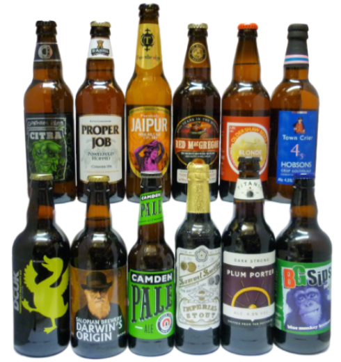 12 Beer Best of British Selection
