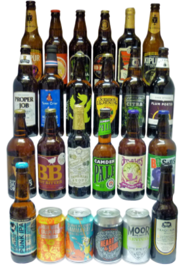24 Beer Best of British Selection
