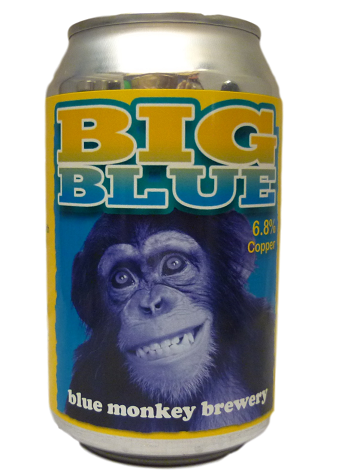Blue Monkey Big Blue