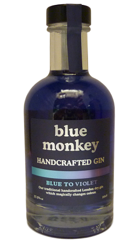 Blue Monkey Blue to Violet Gin 20cl