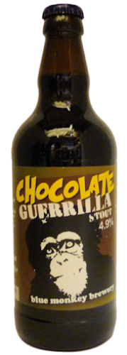 Blue Monkey Chocolate Guerrilla