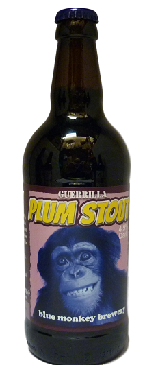 Blue Monkey  Guerrilla Plum Stout