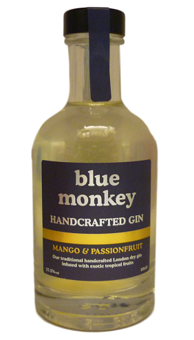 Blue Monkey Mango and Passionfruit Gin 20cl