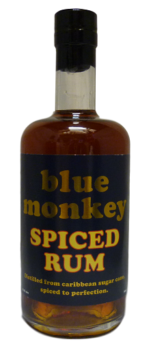 Blue Monkey Spiced Rum