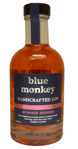 Blue Monkey Summer Berries Gin 20cl