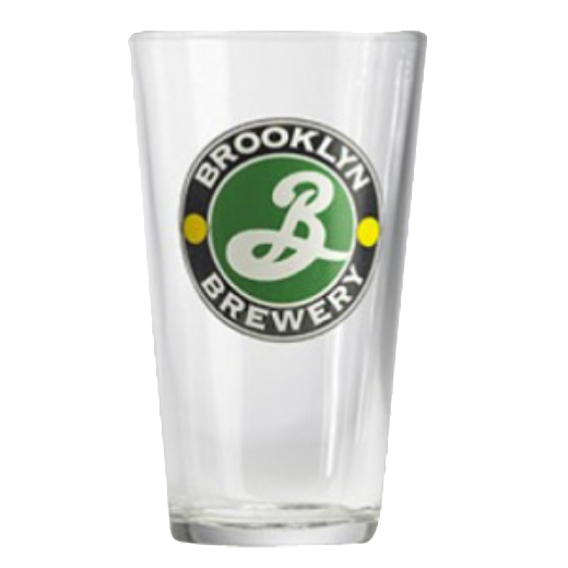Brooklyn Brewery Glass