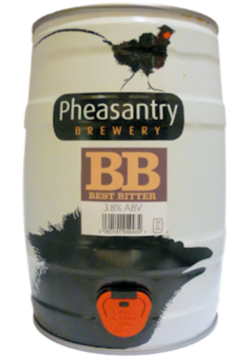 Pheasantry Best Bitter Mini Keg