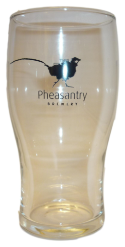 Pheasantry Brewery Pint Glass