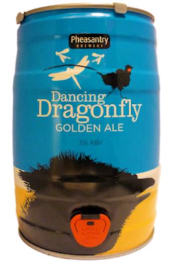 Pheasantry Dancing Dragonfly Mini Keg