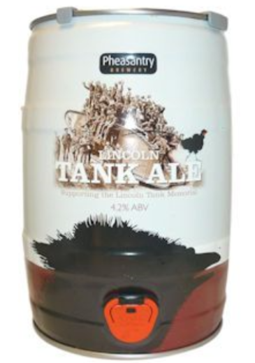 Pheasantry Lincoln Tank Ale Mini Keg