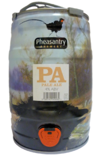 Pheasantry Pale Ale Mini Keg