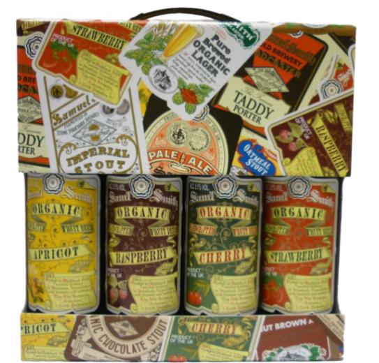 Samuel Smiths Fruit Beer Gift Pack