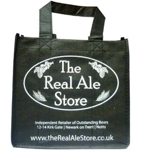 The Real Ale Store Bottle Bag