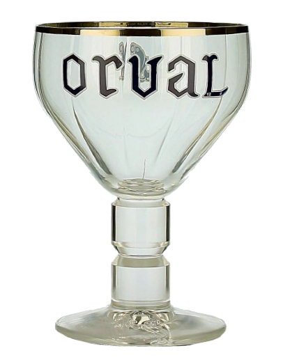 Trappist Orval Glass