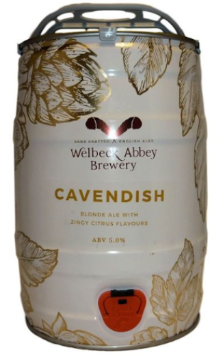 Welbeck Abbey Cavendish Mini Keg