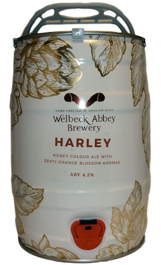 Welbeck Abbey Harley Mini Keg